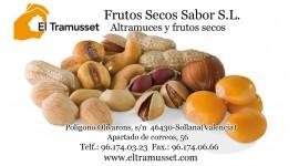 """FRUTOS SECOS SABOR S.L """"EL TRAMUSSET"""""""